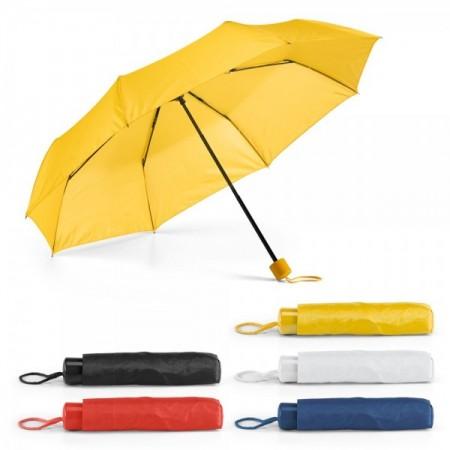 Paraguas personalizados plegables para publicidad en colores variados con logo