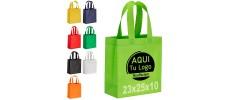 Bolsas pequeñas baratas para personalizar con publicidad