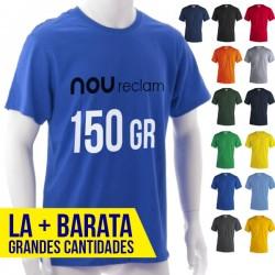 Camisetas publicitarias baratas adulto unisex al mejor precio de colores