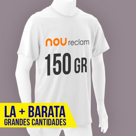 Camisetas blancas publicitarias baratas al mejor precio