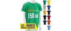 Camisetas publicitarias de niño baratas al mejor precio de varios colores
