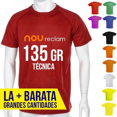 Camisetas técnicas baratas personalizadas para publicidad, Adulto
