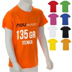 Camisetas técnicas baratas personalizadas para publicidad, Niño