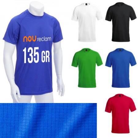 Camisetas técnicas personalizadas de colores tejido texturizado Adulto