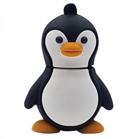 Memorias USB en forma de pingüino