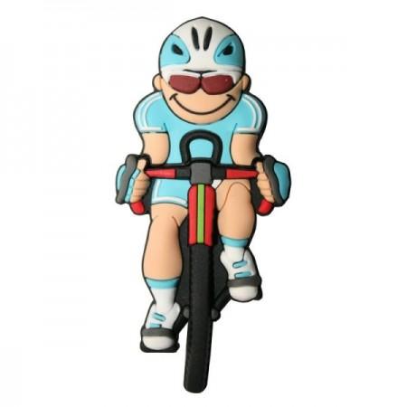 Memorias USB ciclista