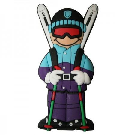 Memorias USB esquiador