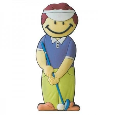 Memorias USB golfista