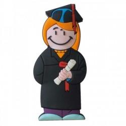 Memorias USB chica graduada