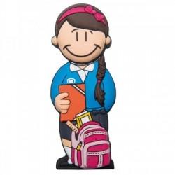 Memorias USB chica estudiante