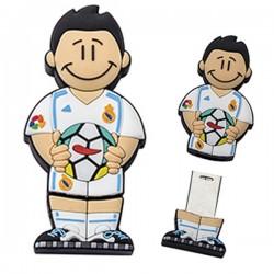 Memorias USB futbolista blanco-venta