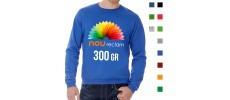 Sudaderas personalizadas baratas de colores para publicidad