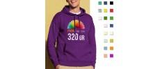 Sudaderas con capucha publicitarias personalizadas con tu logo
