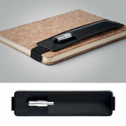 Funda portabolígrafo con elástico para libreta A5