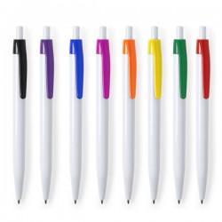 Bolígrafos originales para personalizar en color blanco