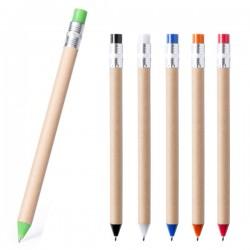 Bolígrafos reciclados de cartón y plástico