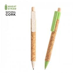 Bolígrafos reciclados publicitarios de caña de trigo