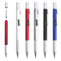 Bolígrafos herramientas nivel destornillador regla