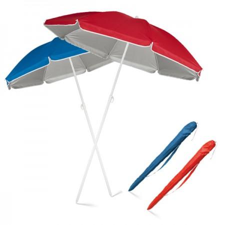 Sombrillas de playa publicitarias