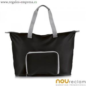 otra idea son bolsas o bolsos de viaje para impresion de mensajes publicitarios o logotipos de la empresa
