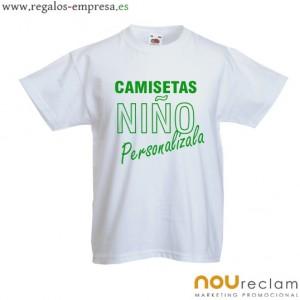 camiseta personalizada en venta en nuestro catalogo nou reclam con variedad de colores y diseños disponibles