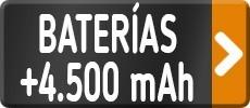 Baterías más 4.500 mAh