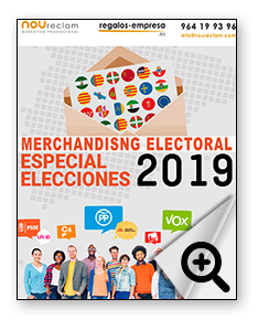 catalogo merchandising electoral